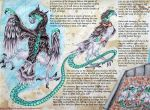 Draconic Birds - Whipcrack Falcons by IAmABananaOo
