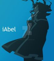 iAbel - Trinity Blood Vector by cafe-lalonde