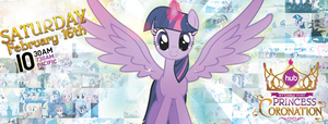 Twilight Alicorn Wallpaper (Princess Coronation) by adim96adri