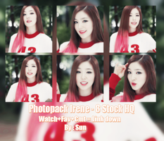 Photopack#9 : Irene Red Velvet : By Sun by Suncucheoo