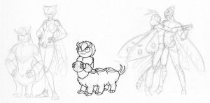 Buggy sketches 28092011 by merrypaws