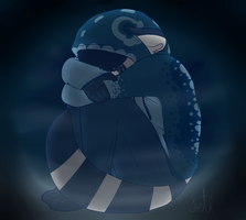 Its cold when im alone by Letipup