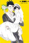 Gohan and Videl - wedding by eleneli