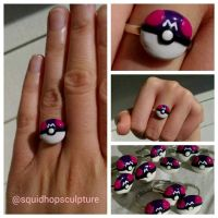 I Wanna Be The Very Best - Masterball Ring by VikingVal