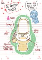 004 Toilet by yllya