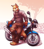 Jaxx Motorcycle by Orangetavi