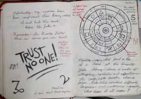 Gravity Falls Journal 3 Replica - Trust No one by leoflynn