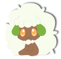 Whimsicott by spiffychicken