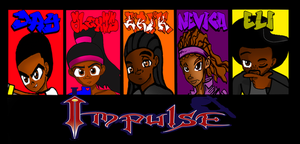 New! Impulse Bookmark by DANJAMESV