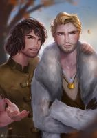 Gray and Hale (Commissioned) by pradesta
