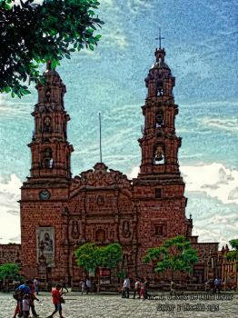 Catedral Aguascalientes Mexico by devanosk