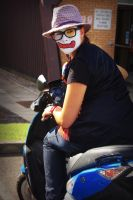 Biker Clown II by AnimeLoverSam