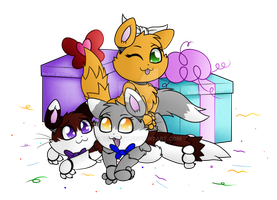 FNaF Gift: Meow Birthday~ by Beckitty