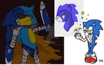 Sample Art 4- Sonic and My Little Pony by hcoecommissions