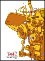 Betteo's Robot - Digital by tawfi2
