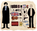 Sherlock's Stuffs by MachoMachi