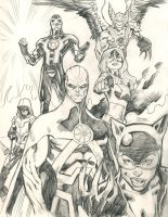 New 52: Justice League of America by guinnessyde