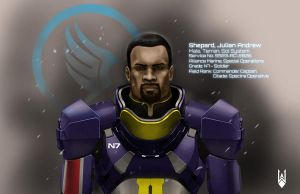 I'm Cdr Shepard and... by Cyberborg