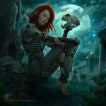 Defiler of the Moon by kerembeyit