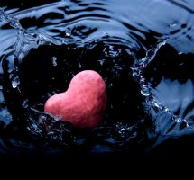 drowned heart by tazis