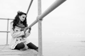 melancholy in black and white by Silvia-D