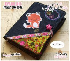 Cozy Book - Paisley Fox by shiricki