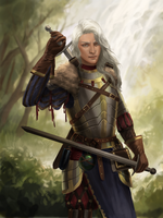 female witcher by adelruna