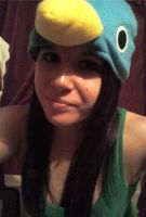 Me and My Prinny Hat by Karen73
