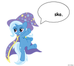 Ska-Ponies: Trixie by Ethaes