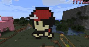 Ash in Minecraft by branduboga