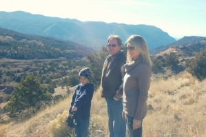 Family In The Mountains by Kelsey-Brown