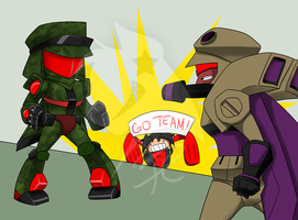 Go Team Decepticons-REQUEST by BlackCatWhiteStar