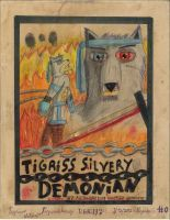 TIGRISS SILVERY DEMONIAN by tigrisssilvery