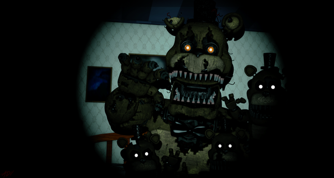 1,2, Freddy is coming to get you. by AdventureOldFoxy