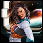 Space Babes: Jessica by Ambient-Vibe