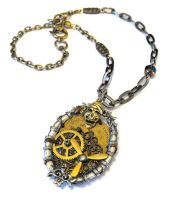 Steampunk Pirate Necklace by JLHilton