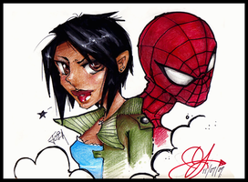 Joia and Spider Man by KawaiiDesign