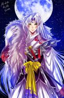 Sesshomaru by AlcoholicRattleSnake