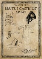 Brutus Castrius' Army... by Leatherfeet
