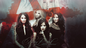 Pretty Little Liars Wallpaper by lucemare