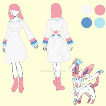 Sylveon  Cosplay Design by Pikavee2231