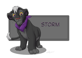 Storm cub by Juffs