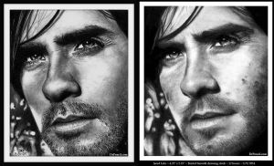 Jared Leto - 4 years of PROGRESS by Rick-Kills-Pencils