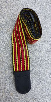 House Colors -  guitar strap by SleyTheDent