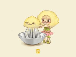 The Lemon Gnome by Sheharzad-Arshad
