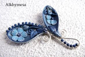 VegetAria in Blu e Lapis, back side by Alkhymeia