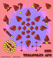 Triangles APB Red by jalentorn