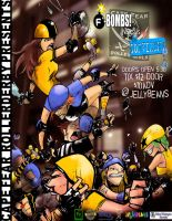 Rollerderby RIOT by TheIronClown