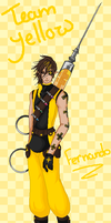 team yellow- fernando by oOLittlePinkyOo