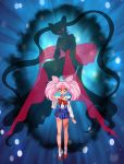 CO- Dark Chibiusa and Wicked Lady by FireFlea-San